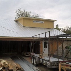 Framing Project on Saratoga Drive in Austin, Texas